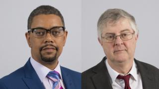 Health Secretary Vaughan Gething and Finance Secretary Mark Drakeford
