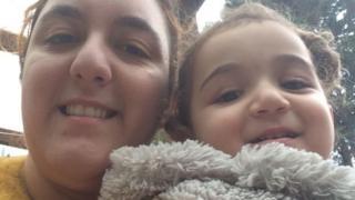 Sonja Kaygan and her daughter Ayse