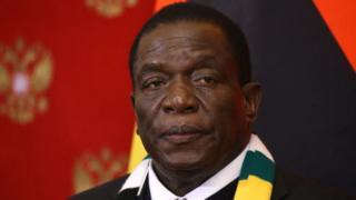 """Mnangagwa از زیمبابوه قول می دهد که مخالفان را """"از پا درآورد"""""""