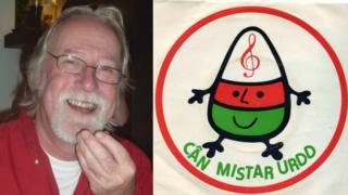 Geraint Davies, cyfansoddwr y gân 'Hei Mistar Urdd'