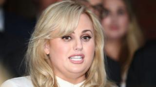 Actress Rebel Wilson outside a Melbourne court in June.