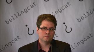 Eliot Higgins, the founder of Bellingcat