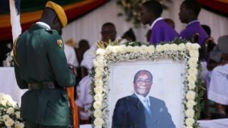 Mazishi ya Mugabe