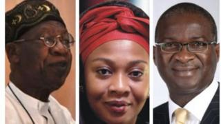 Some of di ministerial nominees