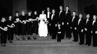 La boda de Sheila en 1988