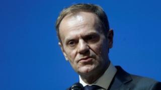 在一封致欧洲27国领导人的信中,图斯克还说,他们中的大多数同意他的看法。