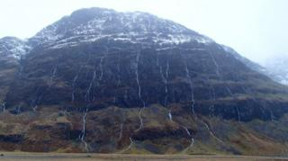 Aonach Dubh, Glen Coe, on 23 December
