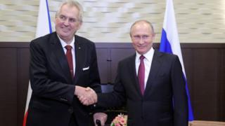Милош Земан, Владимир Путин