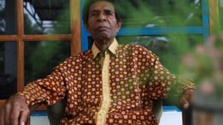 Ketua Dewan Adat Papua Wilayah Mamta Tabi Zadrack Taime