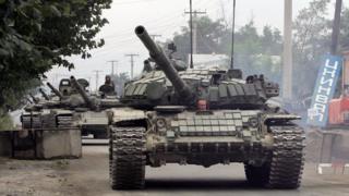 Rus tankları