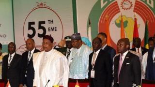 Ecowas Leaders