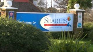 Searles camping site