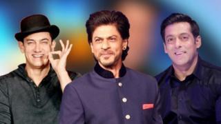 Shahrukh Khan, Salman Khan da Aamir Khan
