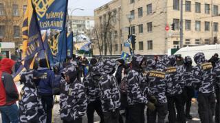 Мітинг під посольством у Києві