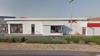 KFC Car park