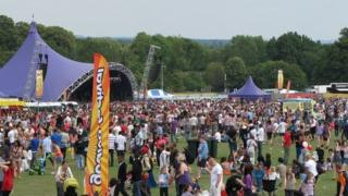 Crowds at the Godiva Festival 2011