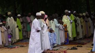 La fête de Tabaski au Cameroun - archives