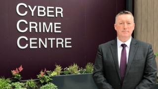 Det Supt Richard Campbell, head of PSNI's Cyber Crime Unit in south Belfast.