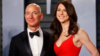 Jeff ve MacKenzie Bezos