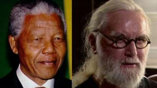 Nelson Mandela and Sir Billy Connolly