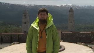 Ramzan Kadyrov in the trailer for the programme