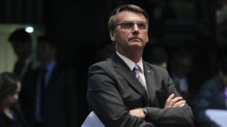 O deputado Jair Bolsonaro