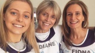 Holly, Diane and Fiona