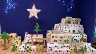 Bethlehem scene
