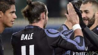 Abakinyi ba Real Madrid bariko barigina intsinzi ya Gareth Bale