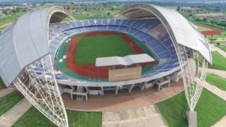 Babban filin wasa na Heroes National Stadium da ke Lusaka, a Zambia