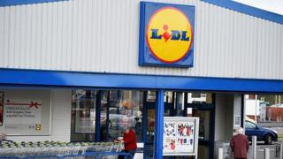 A Lidl store in Glasgow, Scotland