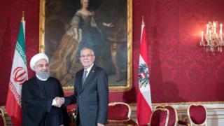 روسای جمهور اتریش و ایران اوایل تابستان سال جاری در وین با هم دیدار کرده بودند