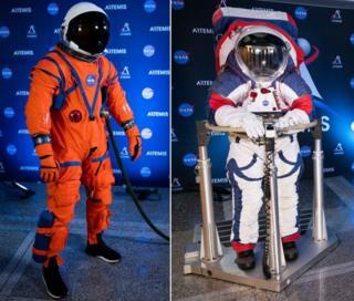 नासा ने बनाए दो नए सूट