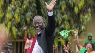 Rais John Pombe Magufuli alipewa jina la utani la 'Tinga'