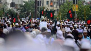 ২০১৩ সালের ৫ই মে ঢাকায় হেফাজতে ইসলামের সমাবেশ