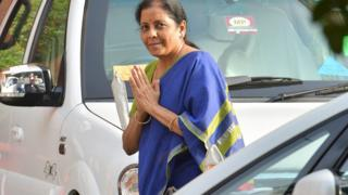 India's first full-time female finance minister, Nirmala Sitharaman