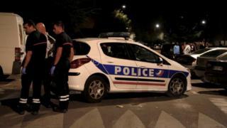 La Provence gazetesinin olay yerinden paylaştığı fotoğraf