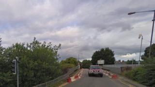 Railway bridge at Muir of Ord