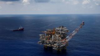 Giàn khoan Lan Tây được vận hành bởi Rosneft ở ngoài khơi Vũng Tàu