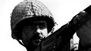 Bir İsrail askeri, 1967