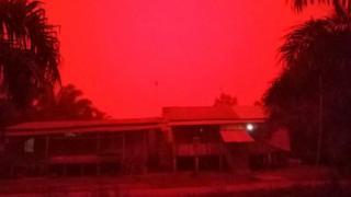 Небо в провинции Джамби