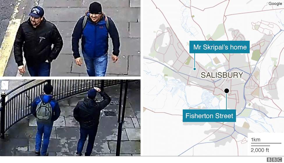 Suspects on Fisherton Street, Salisbury