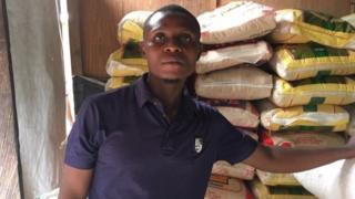Emeka Okameme, na Rice Dealer