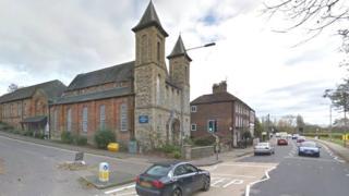 Trinity Church, off London Road, High Wycombe