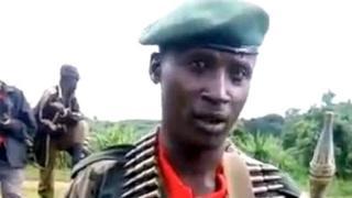 Capitaine Herman Nsengimana, watangajwe nk'umuvugizi mushya w'umutwe wa FLN urwanya ubutegetsi bw'u Rwanda