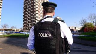 Police officer in north Belfast