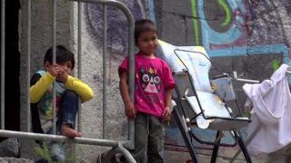 ဘော့စနီးယားမှာ သောင်တင်နေတဲ့ ဒုက္ခသည်များ