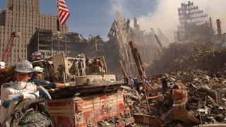 Hundreds of firefighters were sent to the World Trade Center within minutes of the first plane hitting the twin towers