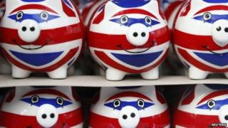 Union Jack piggy banks