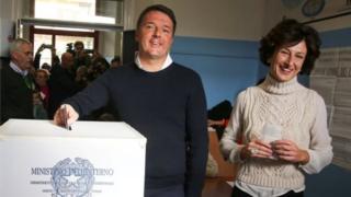 प्रधानमन्त्री माटेओ रेन्त्सीले आफ्ना प्रस्ताव अस्वीकृत भए राजीनामा दिने बताएका छन्